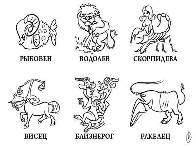 картинки зодиаков: